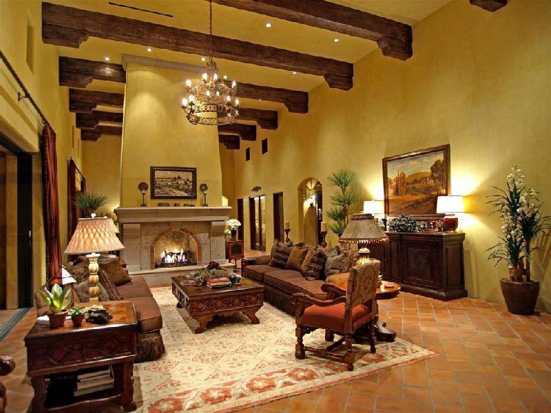Tuscan home furnishings hit italy for Tuscany living room ideas