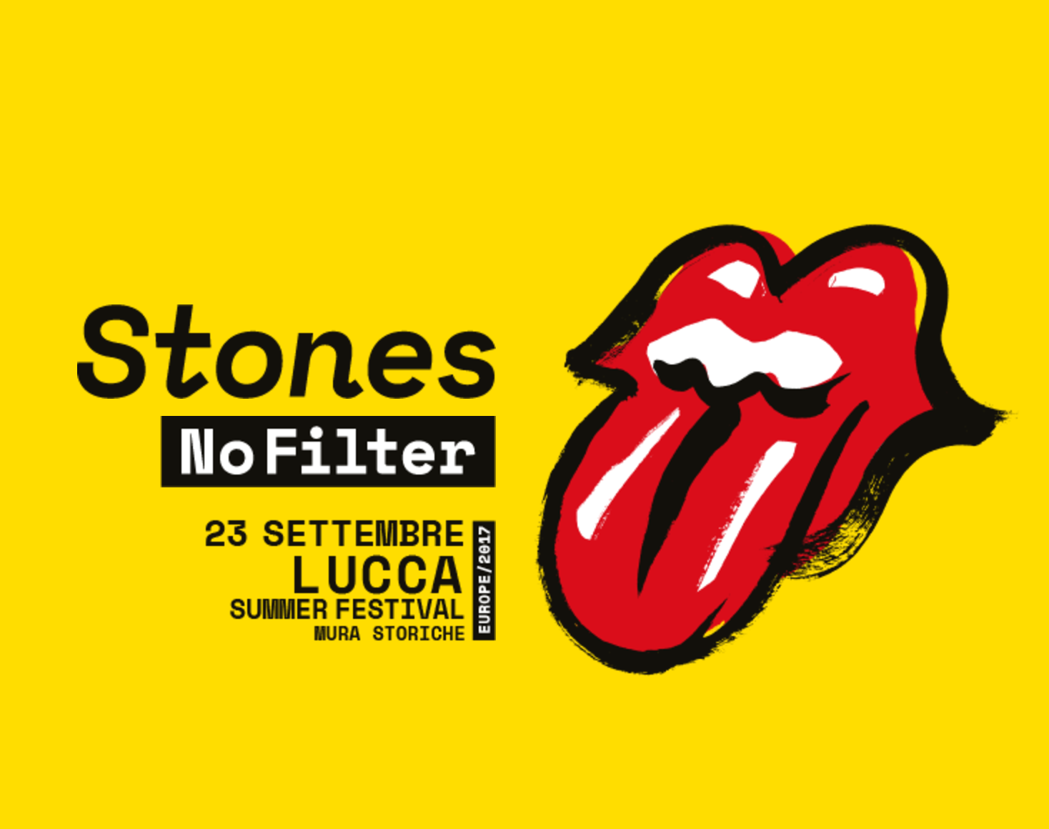 Awesome The Annual Lucca Summer Festival Is Upon Us. I Visited The Site Last Week  And The Stage Is Standing Tall And Billboard Posters Of Featured Artists  Peeping ...